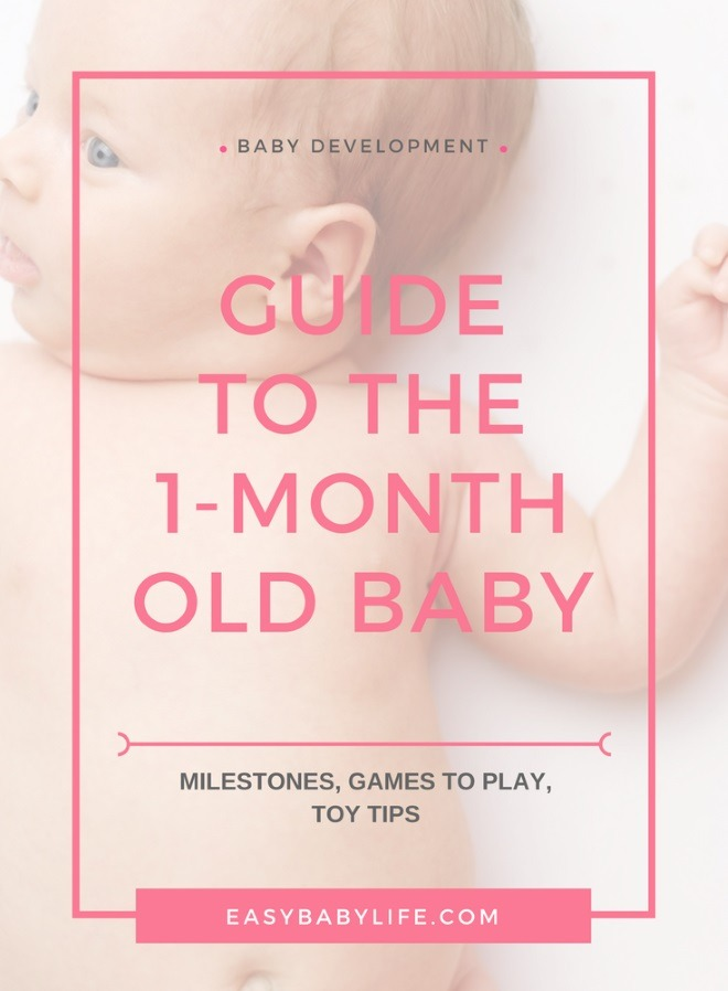 1-month-old baby development