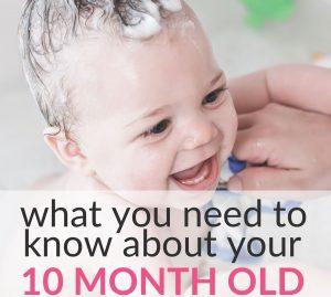 10-month-old baby milestones