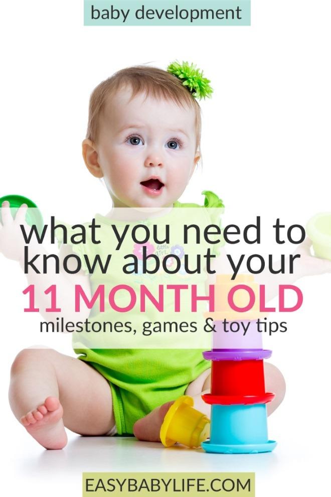 11 month old baby development milestones