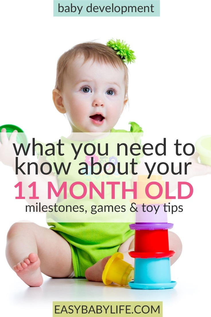 Toys For 11 Month Old : The energetic month old baby development milestones