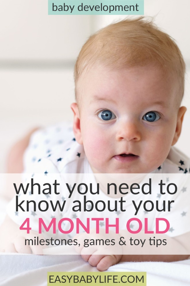 Toys For 4 Month Old Baby : All about your month old baby development milestones