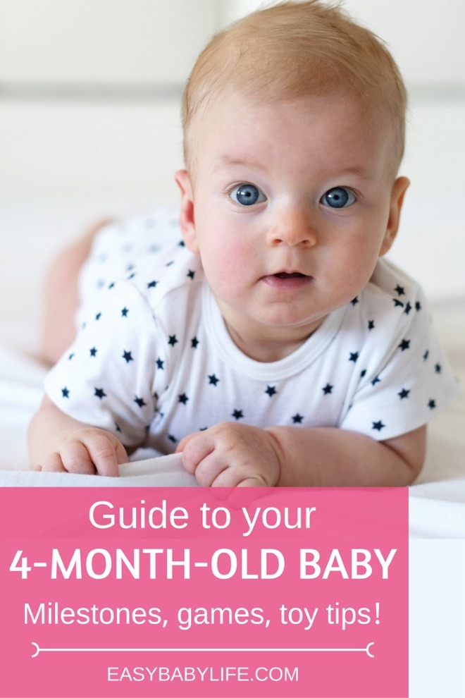 4 Month Baby Toys : Month old baby development milestones games and toy tips