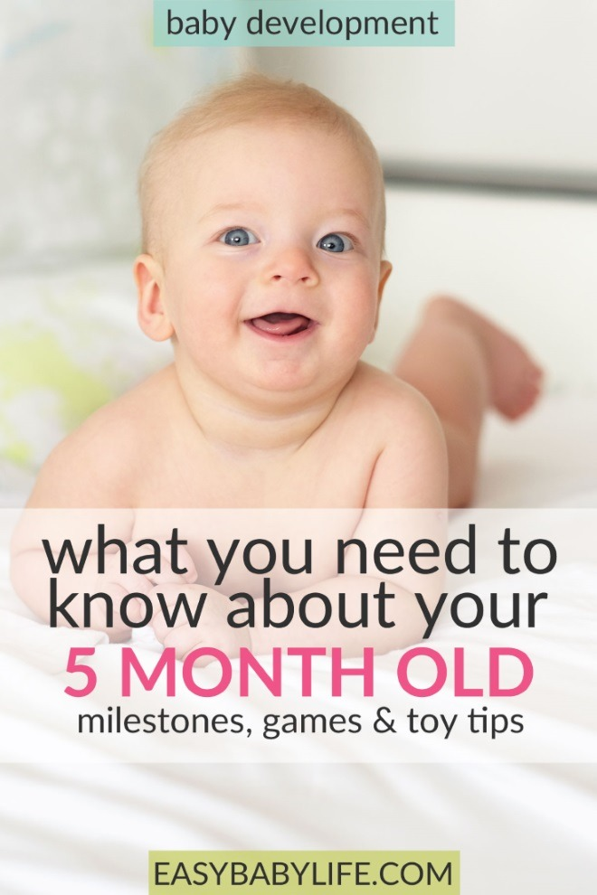 All About 5 Month Old Baby Development Milestones Fun Activities Toy Tips