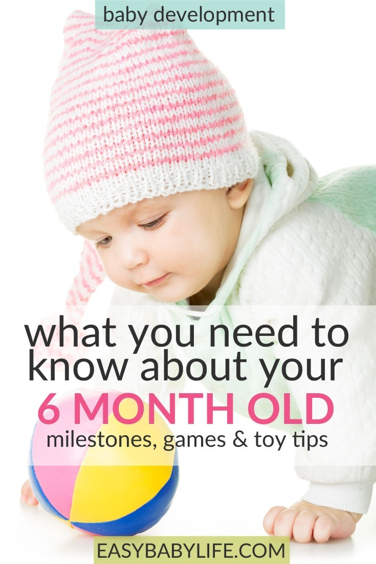 Great guide to the 6-month-old baby! 6-month-old baby development, 6-month-old baby activities,  6-month-old baby milestones, toys for the 6-month-old baby, 6-month-old baby tips!