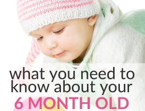 6-month-old milestones