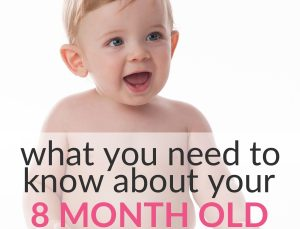 8-month-old milestones