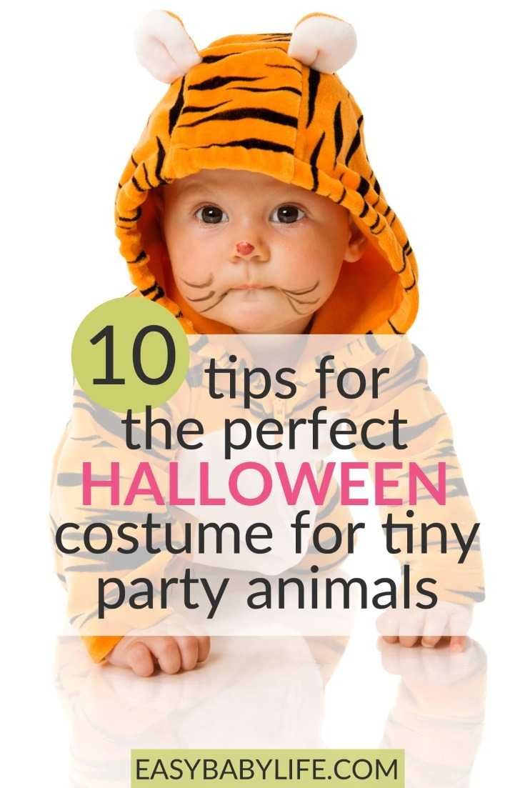 Tips for a happy baby all dressed up for Halloween! Halloween baby costumes, Halloween baby ideas, baby's first Halloween, baby Halloween tips, baby Halloween outfits