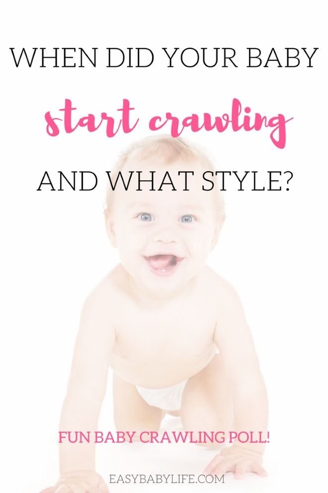 when should baby start crawling