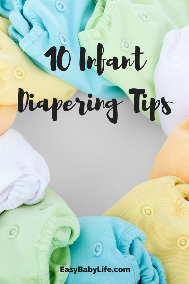 infant diapering tips