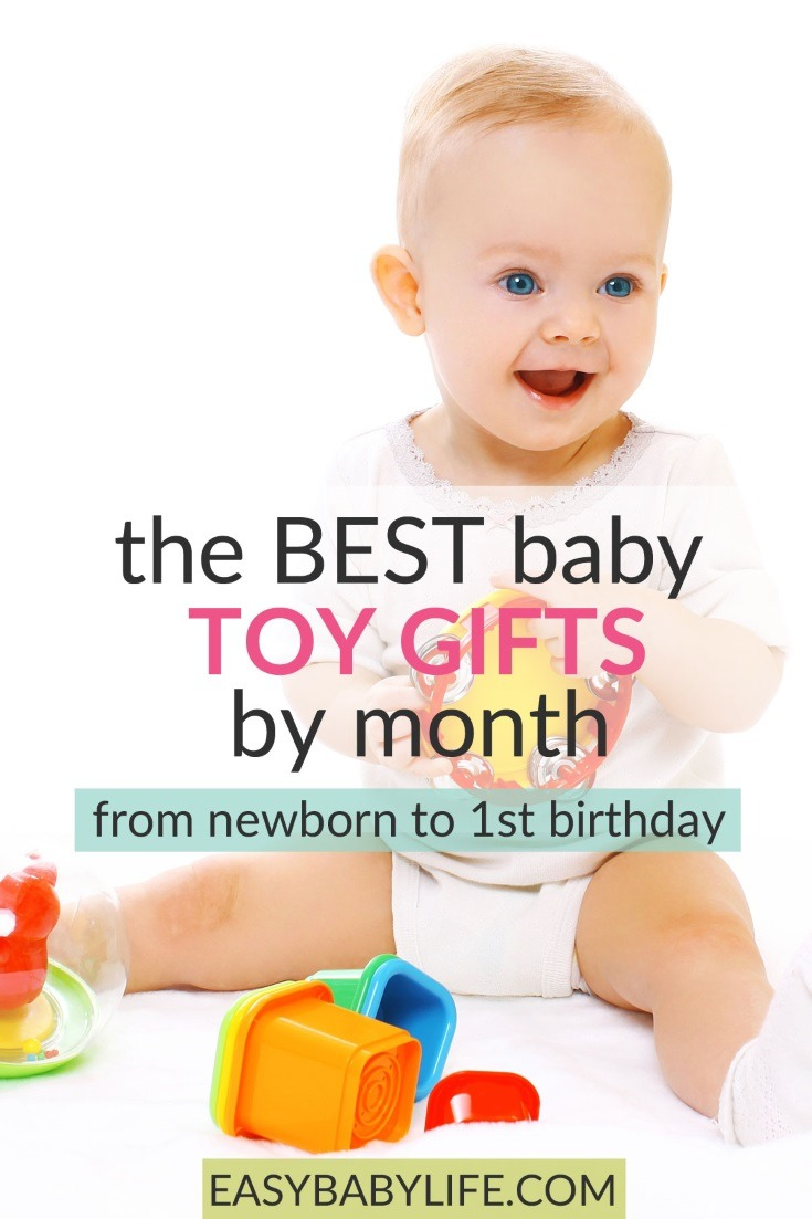 Tips on baby toys that are perfect for your baby's age month by month! Baby toys by age, Newborn baby toys, best baby toys, baby toys per month, baby toys for 1 year old, 3-6, 6-12, Fisher-Price, top baby toys, baby christmas, christmas gifts for babies #christmasgifts #baby #babygifts #