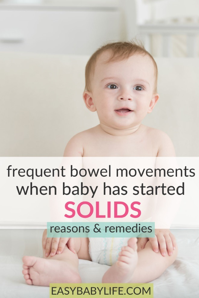 frequent bowel movements in babies