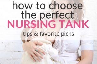 choosing nursing tank top