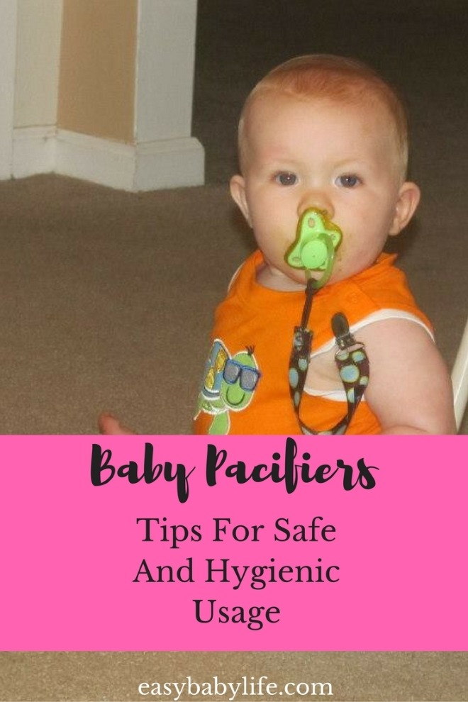 safe baby pacifiers usage