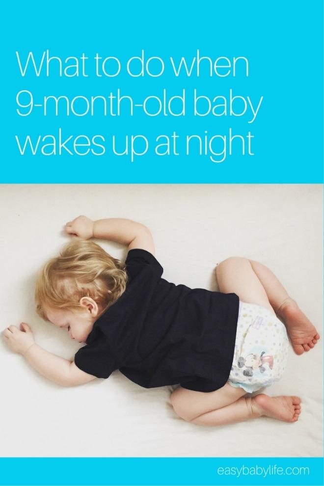 9-month-old baby won't sleep