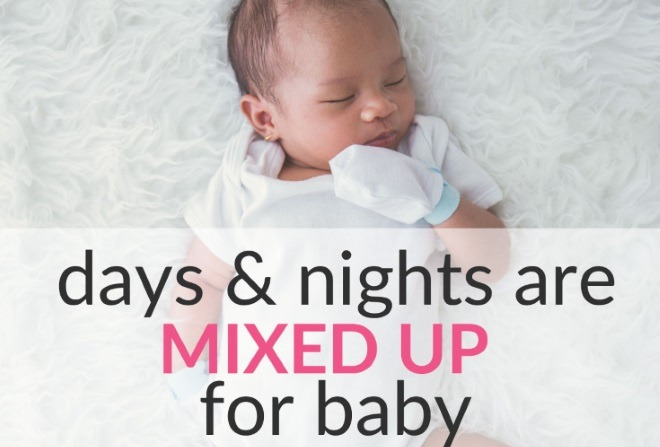 Read more about the article When Days and Nights are Mixed Up For Baby – What To Do?