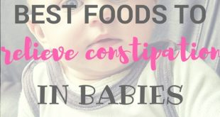 foods to soften hard stools in babies