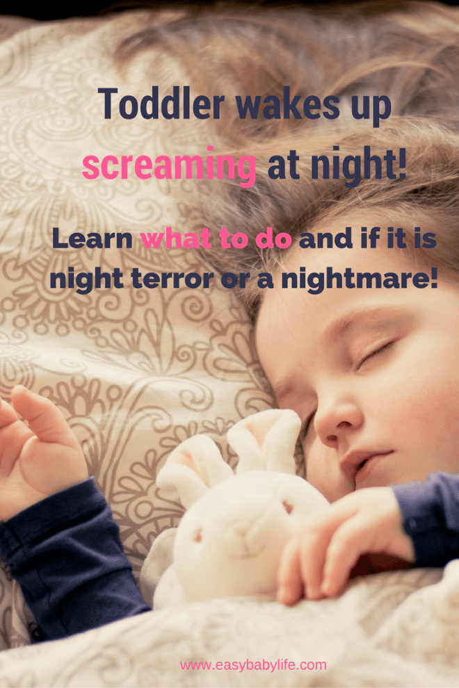 toddler screaming at night