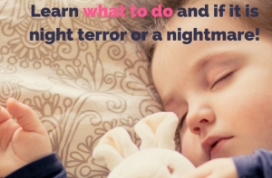 Screaming Toddler In The Middle Of The Night – What To Do!