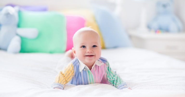 Read more about the article Baby Sleeps on Belly When Rolling Over Asleep! 7 Safety Tips