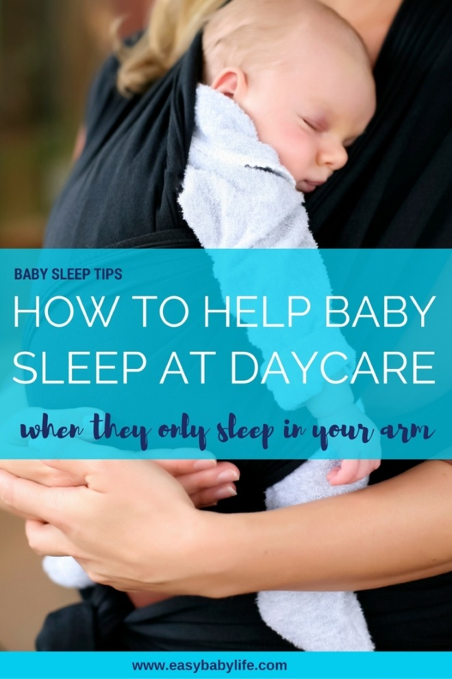 how get baby to sleep at daycare