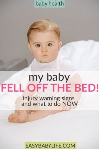 what to do if a baby falls