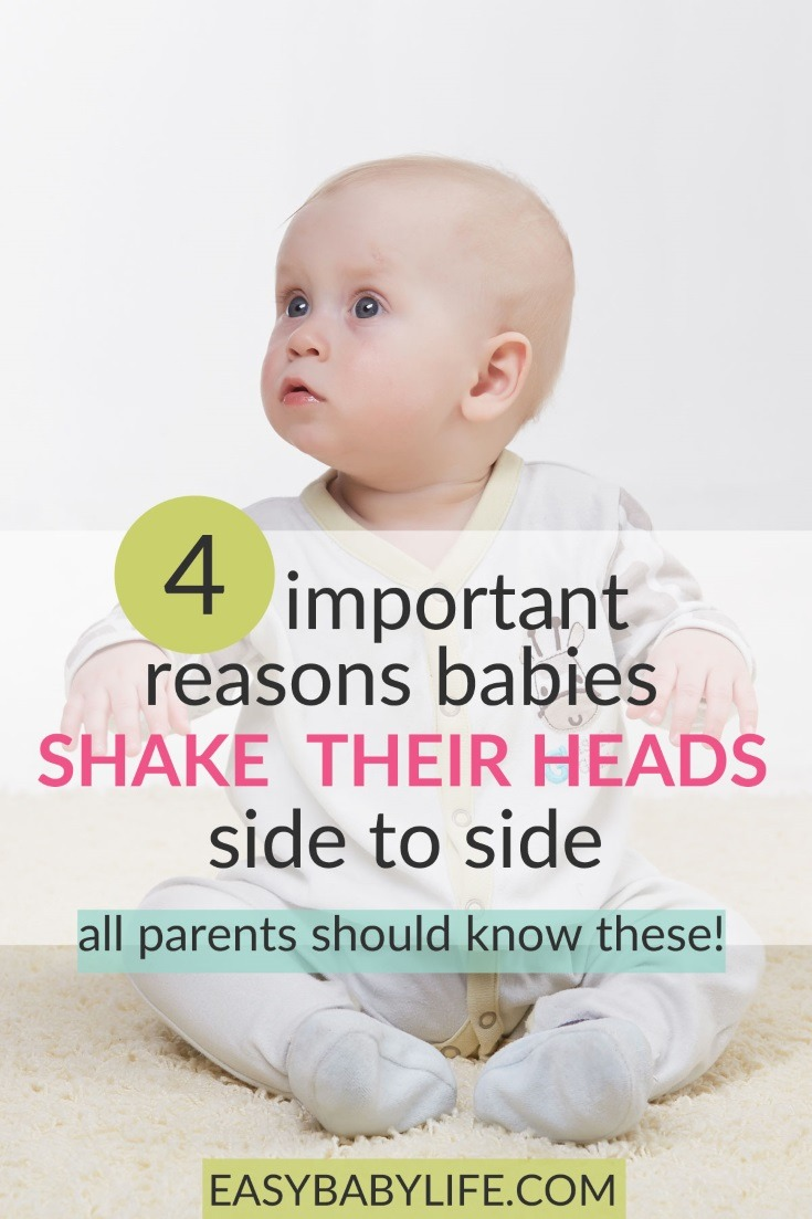 Important information on why a baby shakes head side to side! Baby shaking head, Signs of autism, head shaking is babies, ear infection symptoms. #baby