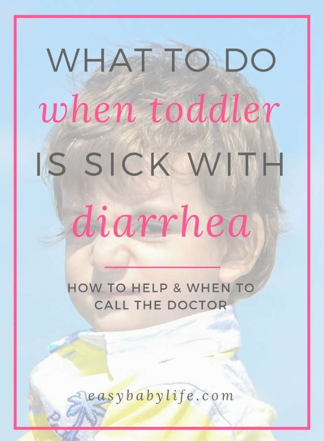 toddler with diarrhea