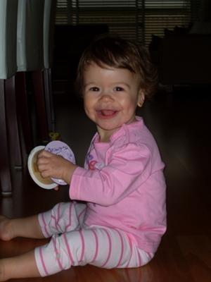 15-month-old-not laughing walking talking