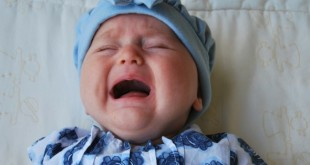 baby crying without tears