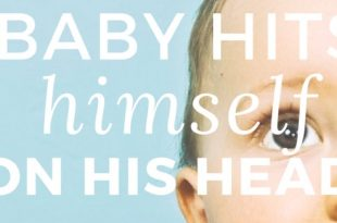 why baby hits himself