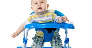 Putting Baby In a Walker – Good Or Bad? (Safety & Research!)