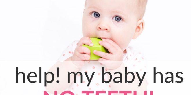 baby has no teeth