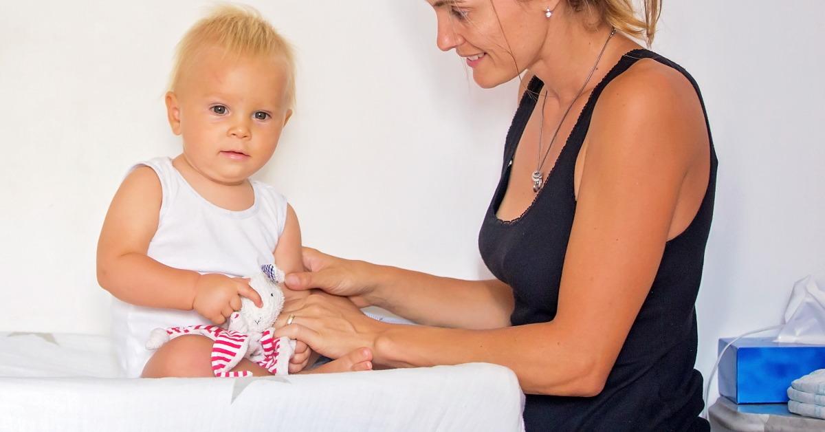 baby refuses diaper change