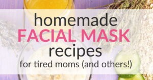 Facial Mask Recipes that Make You Look and Feel Great!