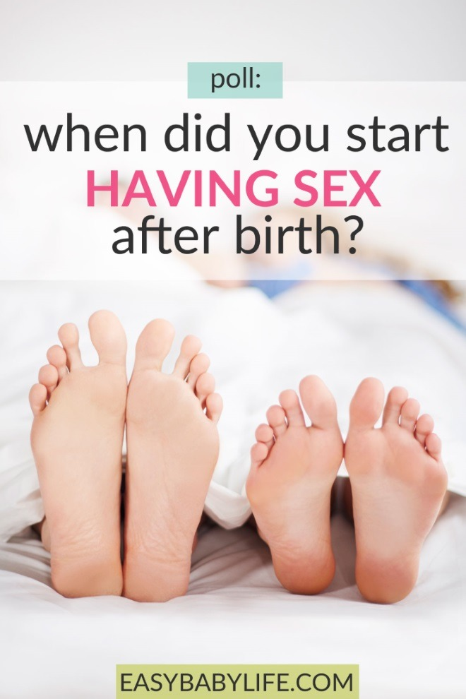 when did you start having sex after birth