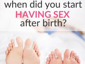 poll sex after birth