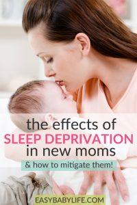 Sleep Depriviation Effects In New Moms