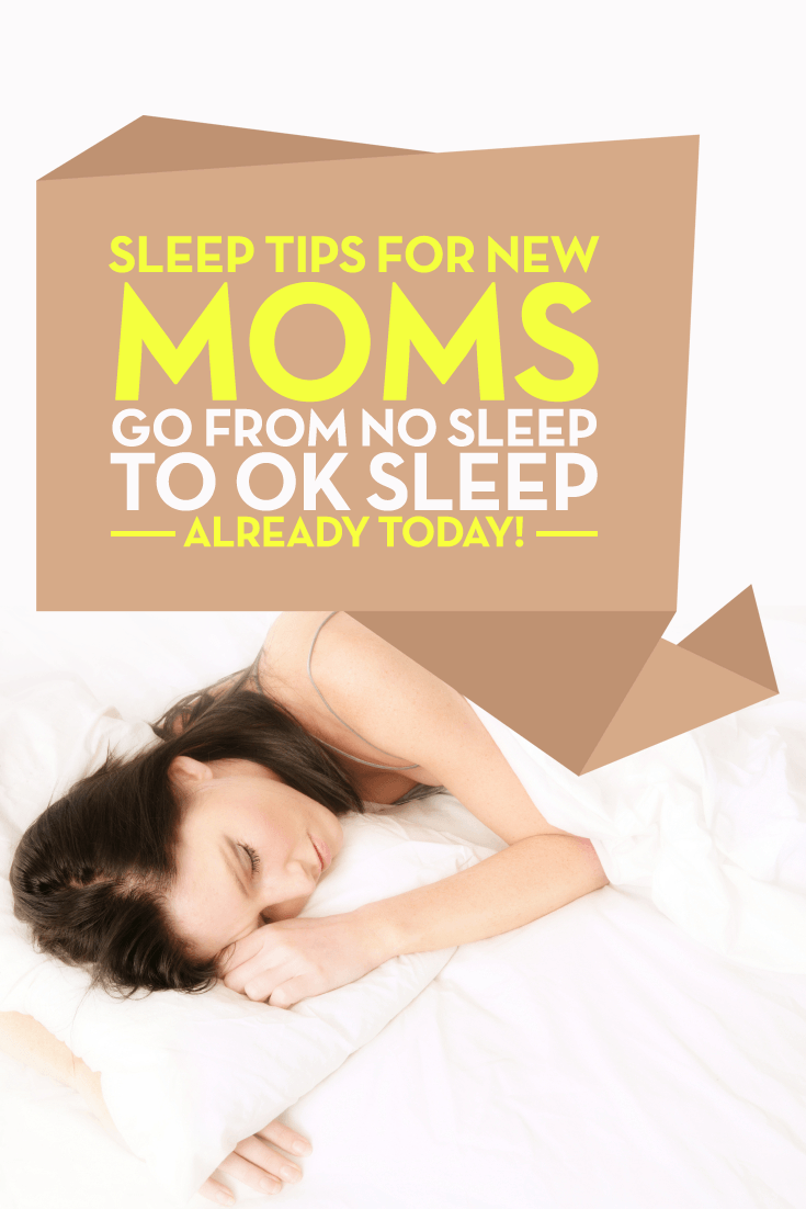 sleep tips for new moms