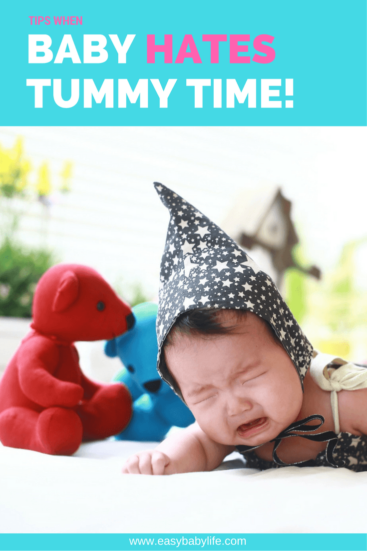 tips when baby hates tummy time