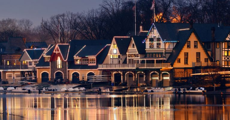 Boathouse Row in Philadelphia, PA – Travel Gem With A Baby