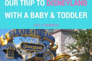 Our Trip To Disneyland, CA With A Baby And A Toddler (Yes, It Worked!)