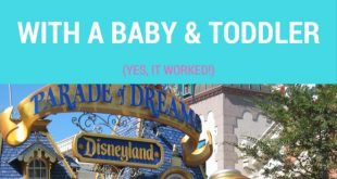 disneyland with baby toddler