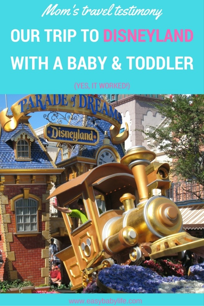 disneyland with a baby and toddler