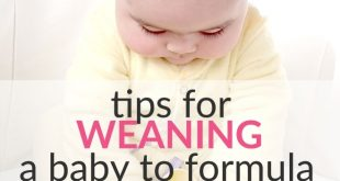 weaning baby to formula and solid food