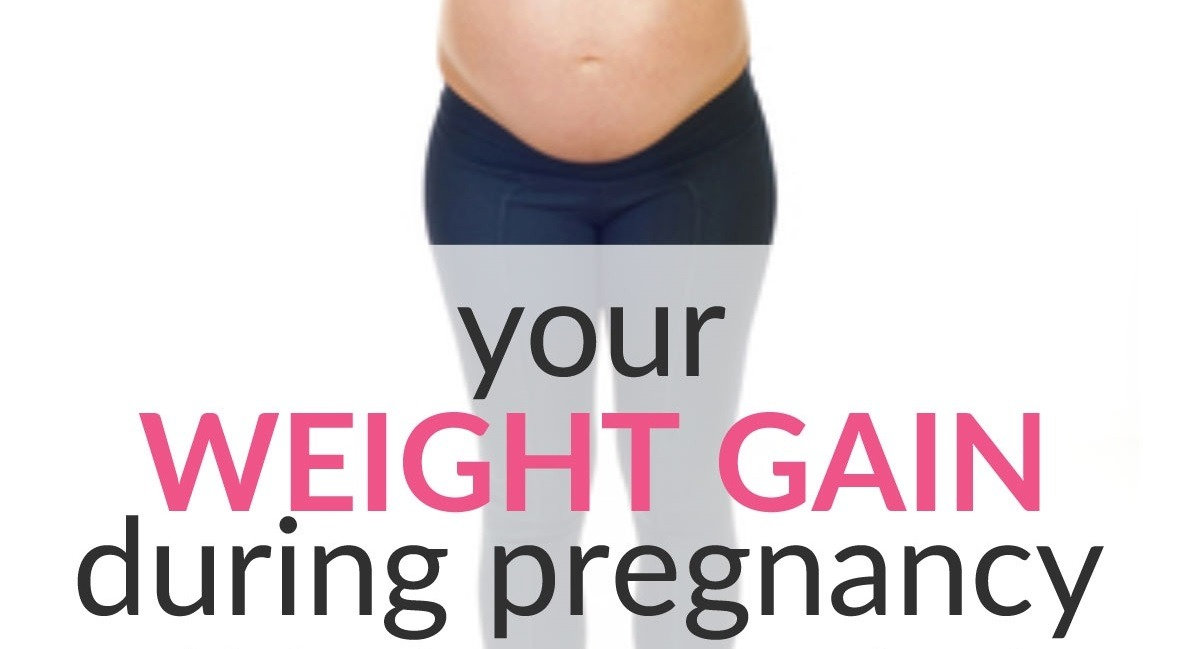 Your Weight Gain During Pregnancy By Week This Is Where It Comes From