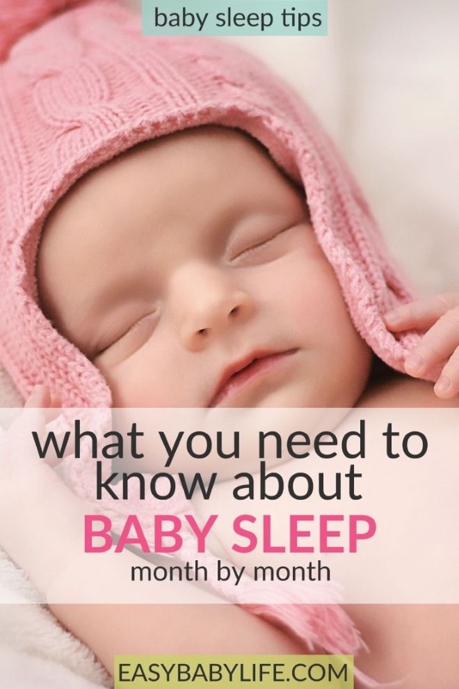 baby sleep patterns month by month