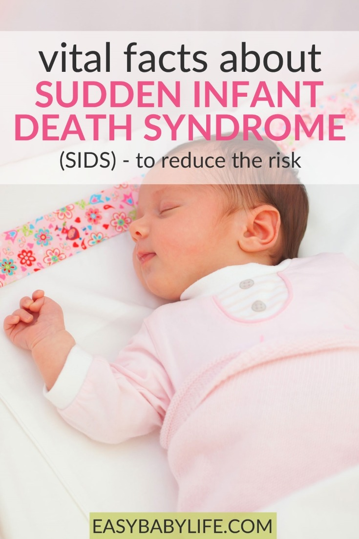 These are facts you need to know to prevent Sudden Infant Death Syndrome! Did you know them all?) - How to reduce the risk of sids! Baby sleep tips, baby sleep safety, cot death #baby