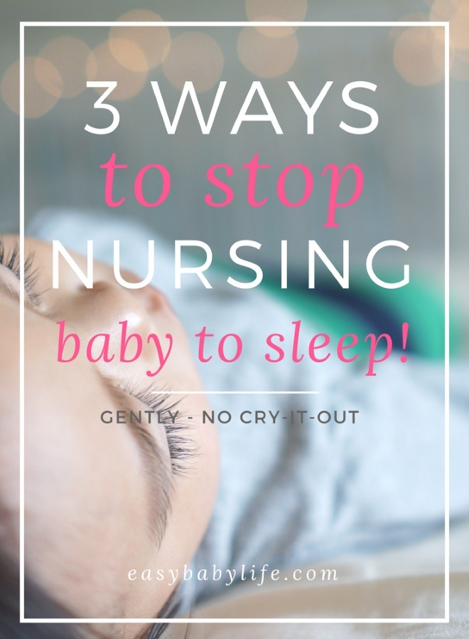 how to stop nursing baby to sleep