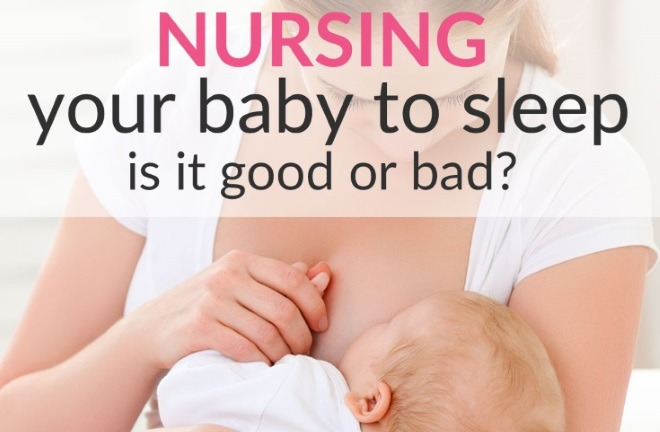 nursing baby to sleep