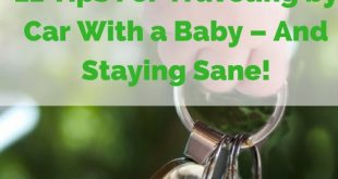 travelling by car with a baby